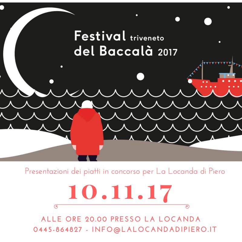 10 novembre: tappa vicentina del Festival Triveneto del Baccalà