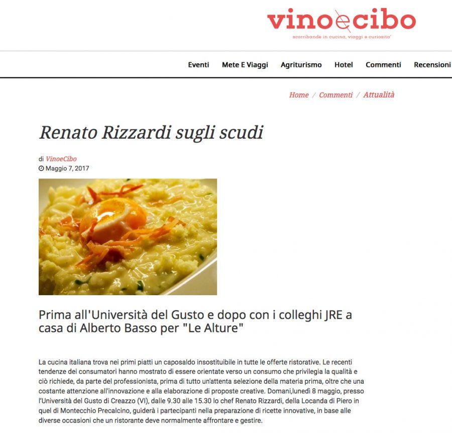 Renato Rizzardi sugli scudi
